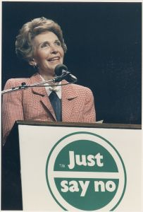 Photograph_of_Mrs._Reagan_speaking_at_a_%22Just_Say_No%22_Rally_in_Los_Angeles_-_NARA_-_198584