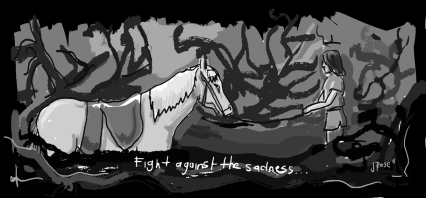atreyu_and_artax_in_the_swamps_of_sadness_by_battousaiblade7-d55hyr7